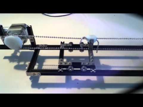 Polar Plotter on Arduino and MakerBeams | FunnyCat TV