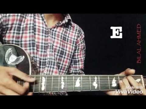 PEHLI DAFA (Atif Aslam) | GUITAR LESSON | Bilal Ahmed | For Beginners | Guitar cover with chords