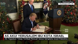 Download Video Dunia Geger! Presiden AS Donald Trump Akui Yerusalem Ibukota Israel MP3 3GP MP4