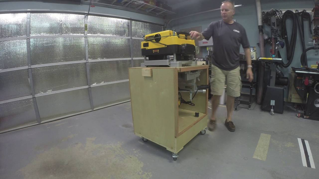Flip Top Planer Miter Saw Stand Youtube