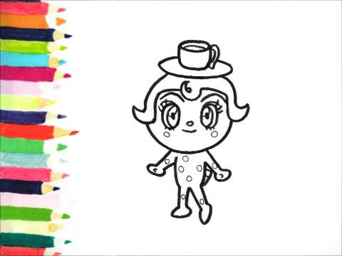 アンパンマンイラスト 描けたらうれしい カッパチーノの描き方 How To Draw Anpanman Youtube