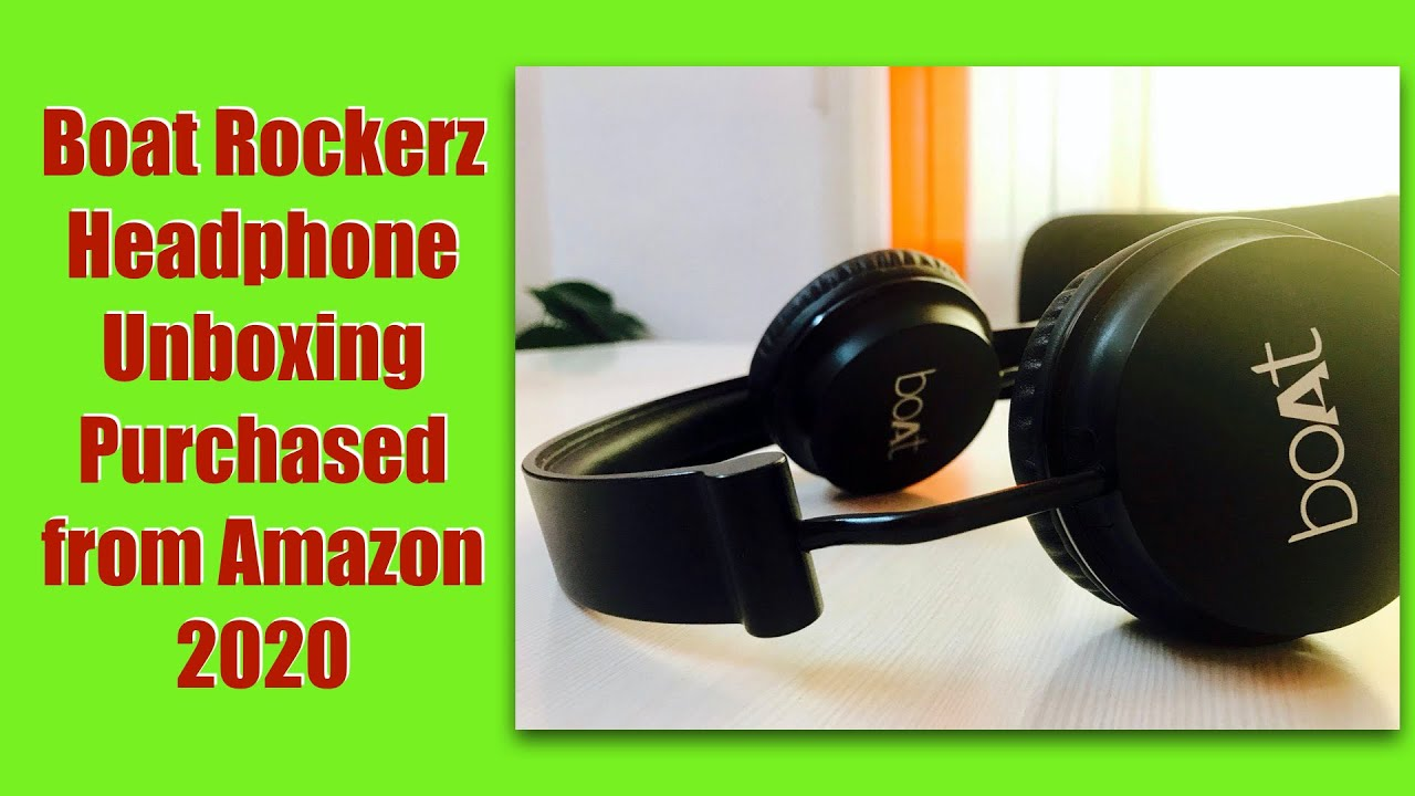 Boat Rockerz 400 Headphones Unboxing Detailed Review Purchased From Amazon Youtube