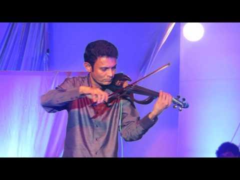 Ruwan Weerasekera violin performance at Yathra 2013