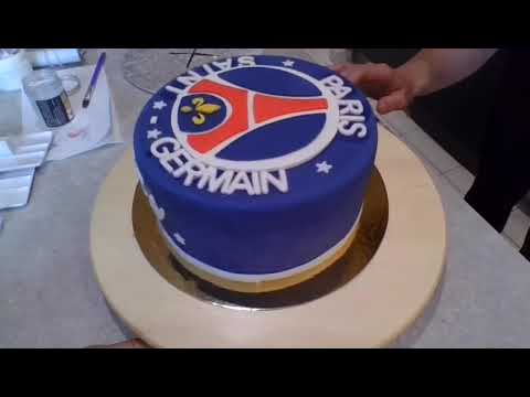 Cake Design Psg Youtube
