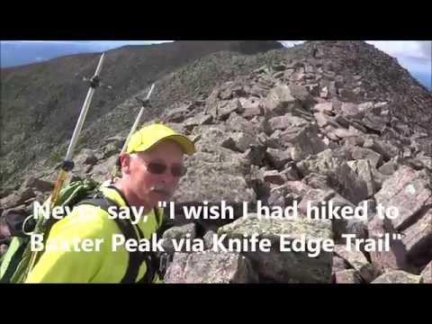 Knife Edge Odyssey, Mount Katahdin, Baxter Peak, Northern terminus of AT