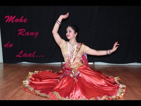 MOHE RANG DO LAAL || KATHAK Dance Video || SUKRUTI AIRI
