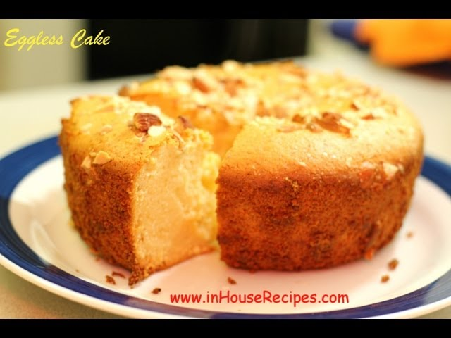 Eggless Cake In Oven Or Microwave