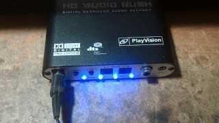 DTS Decoder HD AUDIO RUSH