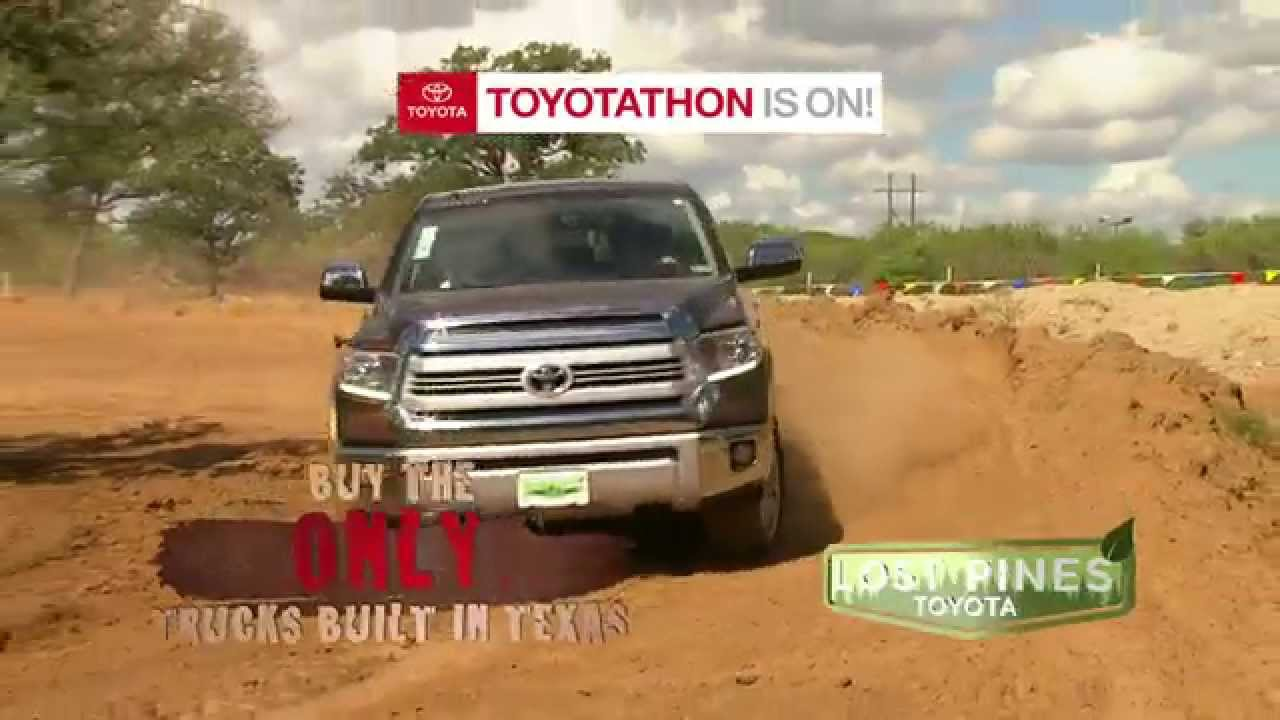 toyotathon tundra sales season truck yeah at lost pines in bastrop youtube. Black Bedroom Furniture Sets. Home Design Ideas
