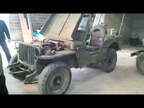 restauration jeep willys 1945 youtube. Black Bedroom Furniture Sets. Home Design Ideas