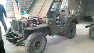 Restauration jeep willys 1945