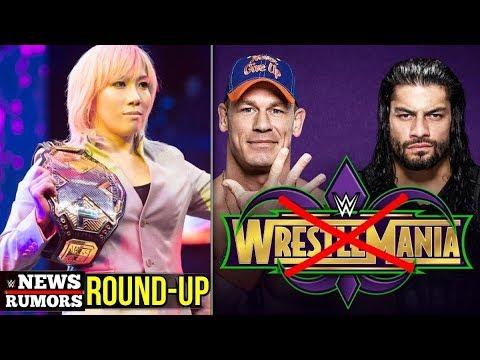 Backstage News On NXT Call Ups, Asuka Relinquish Title, WrestleMania Plans! [#WWE News/Rumors 175]