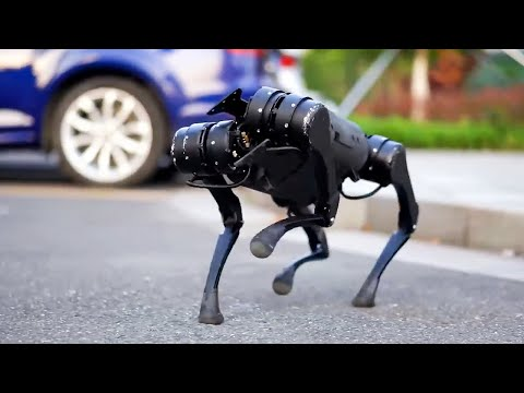 Unitree A1 is a Boston Dynamics Spot look-alike