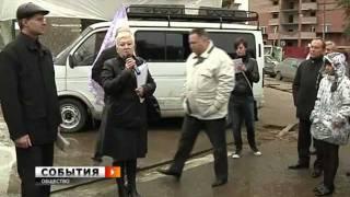 "Митинг против вырубки деревьев возле ЦУМа ""Самара"""