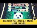 NICE WIN ON PANDA MAGIC SLOT MACHINE - DRAGON LINK GAME - SunFlower Slots