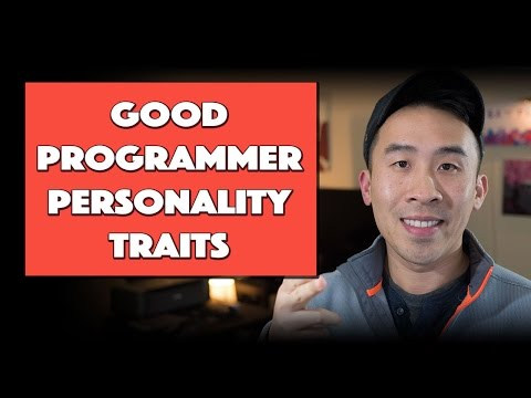 Personality Traits that make for Good Programmers