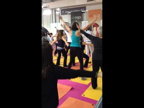 OM Yoga Show 2013 Open Class with Dirish Shaktidas