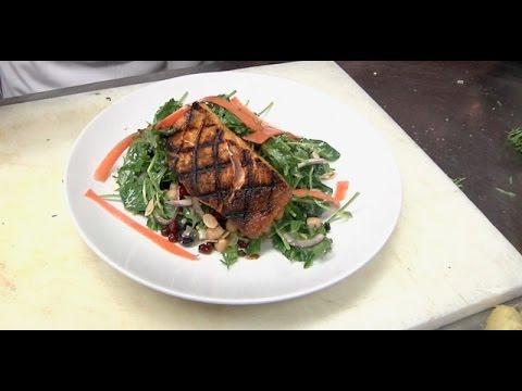 201. Mispillion Fitness - Grilled Salmon Power Salad