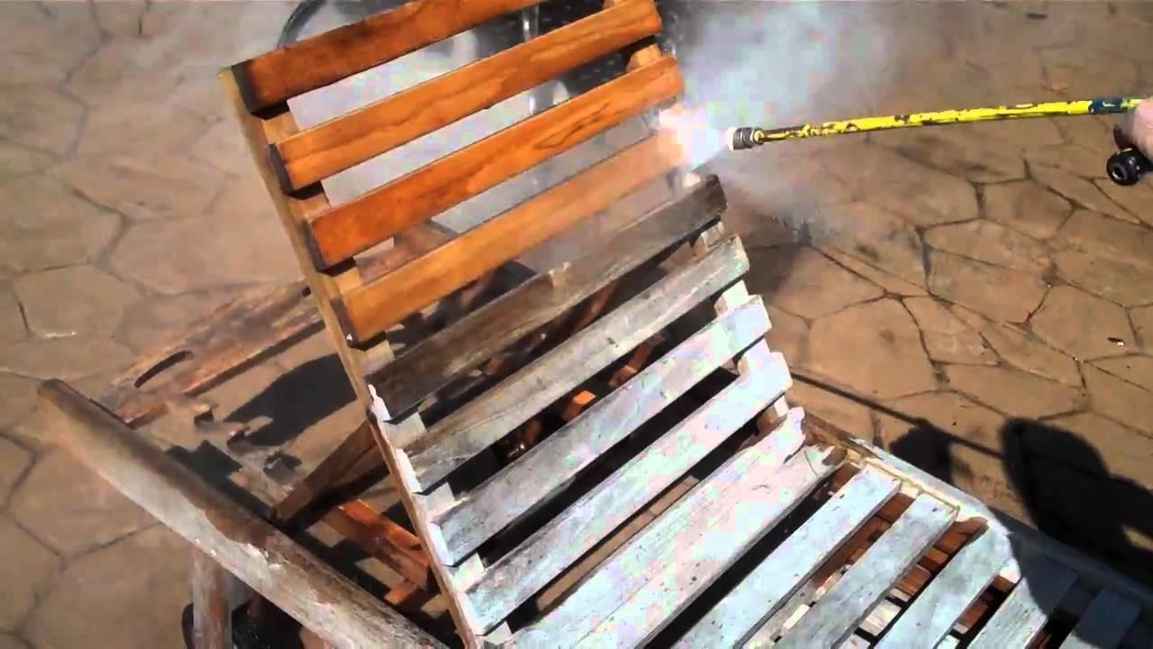 Power washing a deck - Westchester Power Washing Wooden Deck Furniture Gets Pressure Washed 914 788 9274