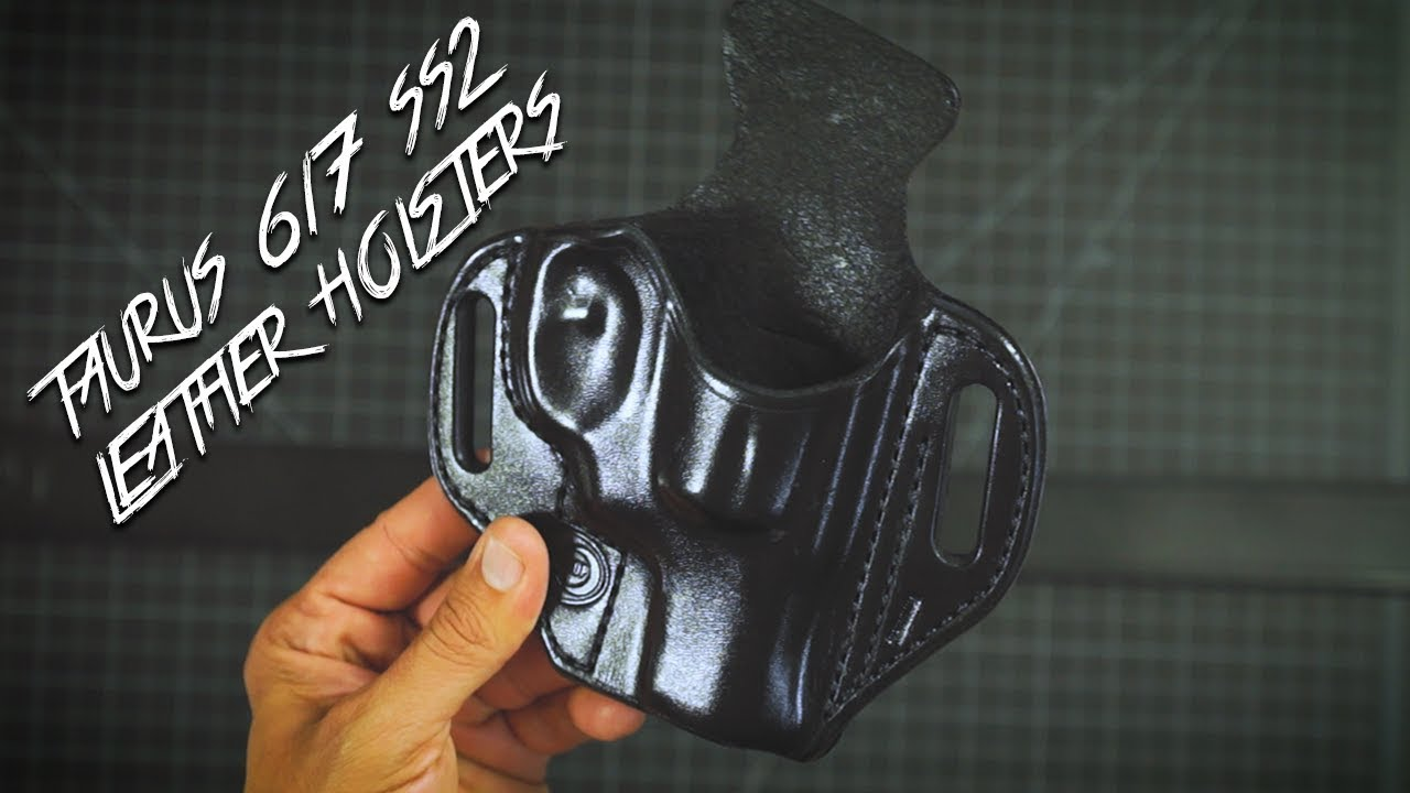 Taurus 617 SS2 Leather Holsters By: WinthropHolsters com