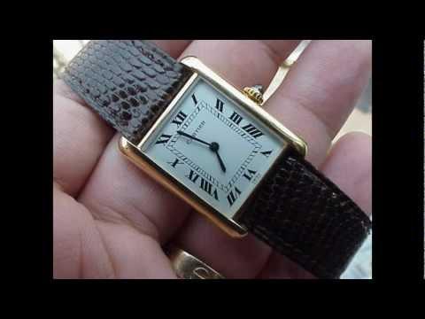 Louis Cartier Tank Watch - Paul Pluta Prestige Watch Review Special