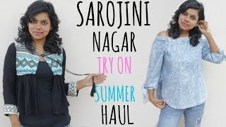 Sarojini Nagar Haul - Try on Clothing Summer Haul | Sarojini Nagar Monday Market 2017