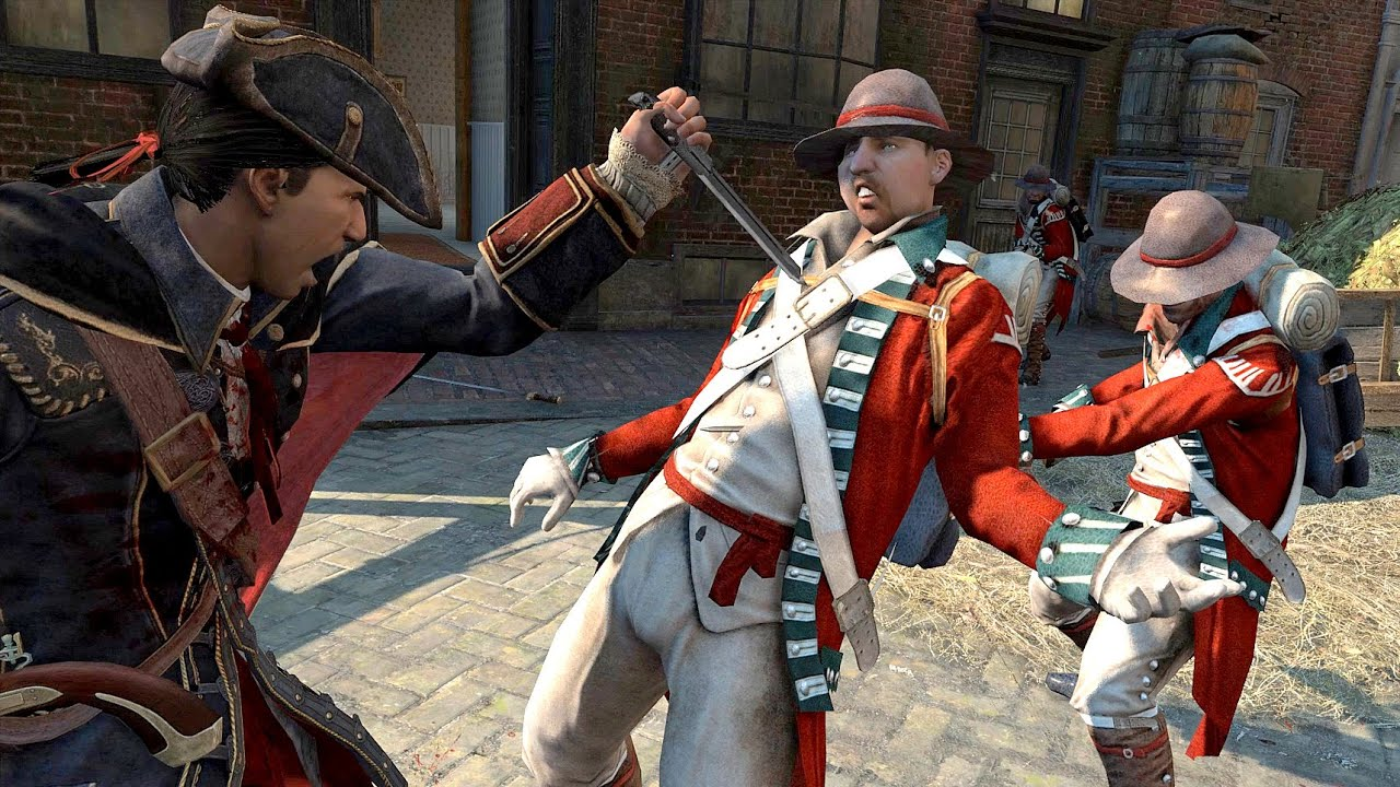 Assassin S Creed 3 Haytham Kenway Free Roam Combat Youtube
