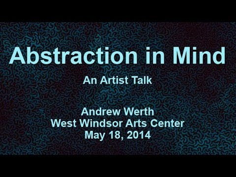 Abstraction In Mind: An Artist Talk