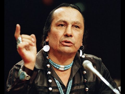 1989   American Indian Activist Russell Means testifies at Senate Hearing