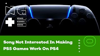 Sony Not Interested In Making PS5 Games Work On PS4 - IGN News Live - 05/29/2020