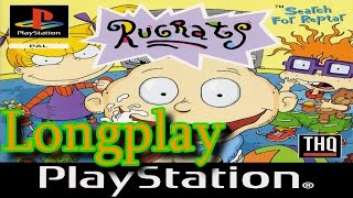 PS1 Longplay: Rugrats Search For Reptar (PAL) Kind of Blind