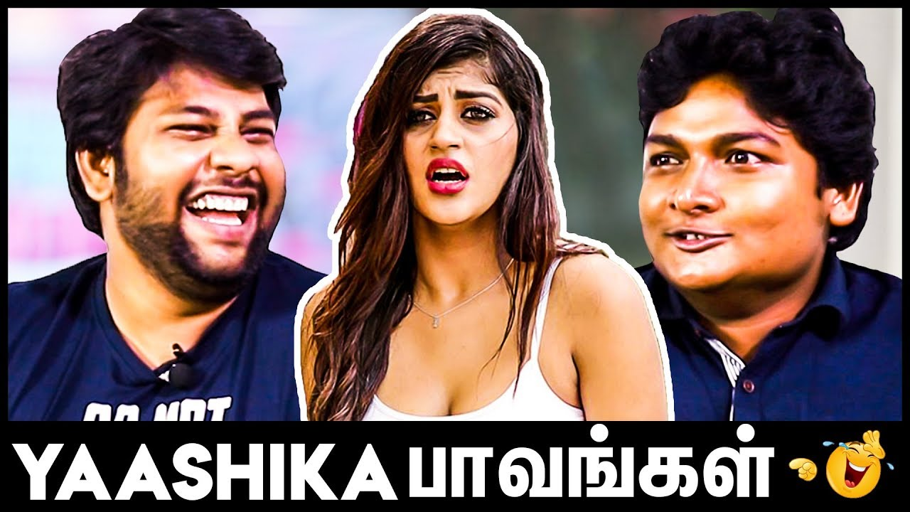 Yaashika Anand's Mokka Joke Parithabangal | Gopi Sudhakar Hilarious Interview | Zombie Movie