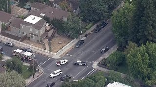 Raw Video: Chopper 5 Over DEA, Homeland Security Action In Redwood City.