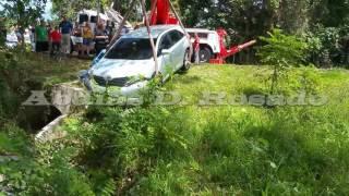 Toyota Venza Accidente
