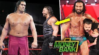 The Great Khali Attacks Roman Reigns At Money in the Bank 2018 ? Roman Reigns Vs Jinder Mahal MITB !