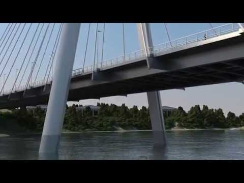 PROIN3D: CABLE STAYED BRIDGE CONSTRUCTION (2014)