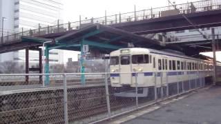 九州工大前駅 2010年3月 その7 通過電車(快速)