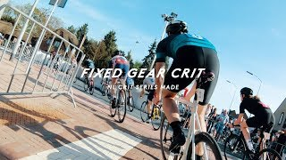 NL CRIT SERIES: MY FIRST FIXED GEAR RACE - RAPHA RACING TEAM