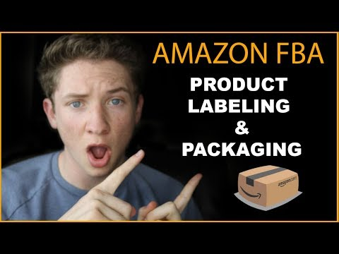 Amazon FBA Labels And Product Packaging Design