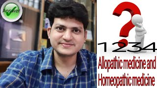 Can We take Homeopathic Medicine along with allopathic Medicine ? vice versa ! Explain !