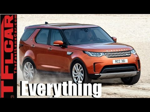 2017 Land Rover Discovery: Everything You Ever Wanted to Know