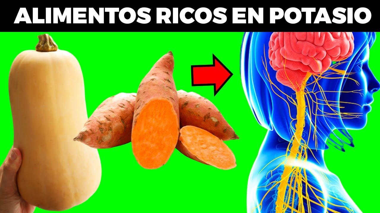 15 alimentos ricos en potasio para tu SISTEMA NERVIOSO Y PREVENIR OSTEOPOROSIS (aparte del plátano)