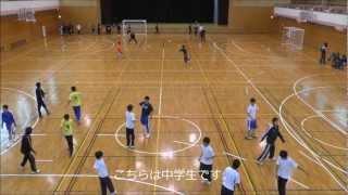 麻布中高ハンドボール部春合宿−2−(2013年3月31日)
