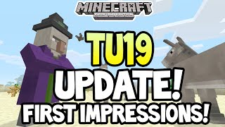 Minecraft (Xbox 360/One) - TITLE UPDATE! 19 - RELEASED! + FIRST IMPRESSIONS GAMEPLAY!