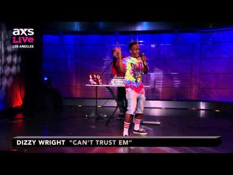 """Dizzy Wright Performs """"Can't Trust Em"""" on AXS Live"""
