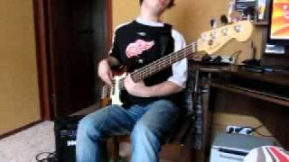The Von Bondies - Pale Bride (bass cover)