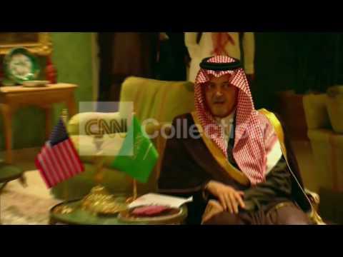 SAUDI ARABIA: JOHN KERRY ARRIVAL IN RIYADH