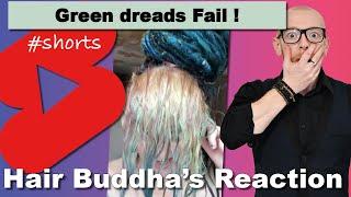 Reacting on TIK TOK HAIR FAILS - Hair Buddha #shorts reaction video