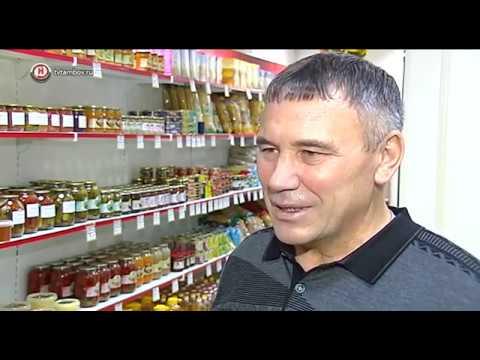 В центре Тамбова открыли фермерский магазин