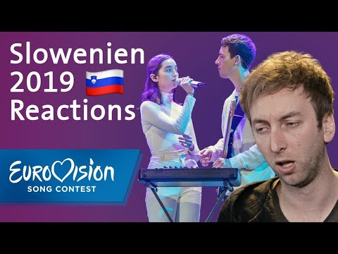 "Zala Kralj & Gašper Šantl - ""Sebi"" - Slowenien | Reaction | Eurovision Song Contest"
